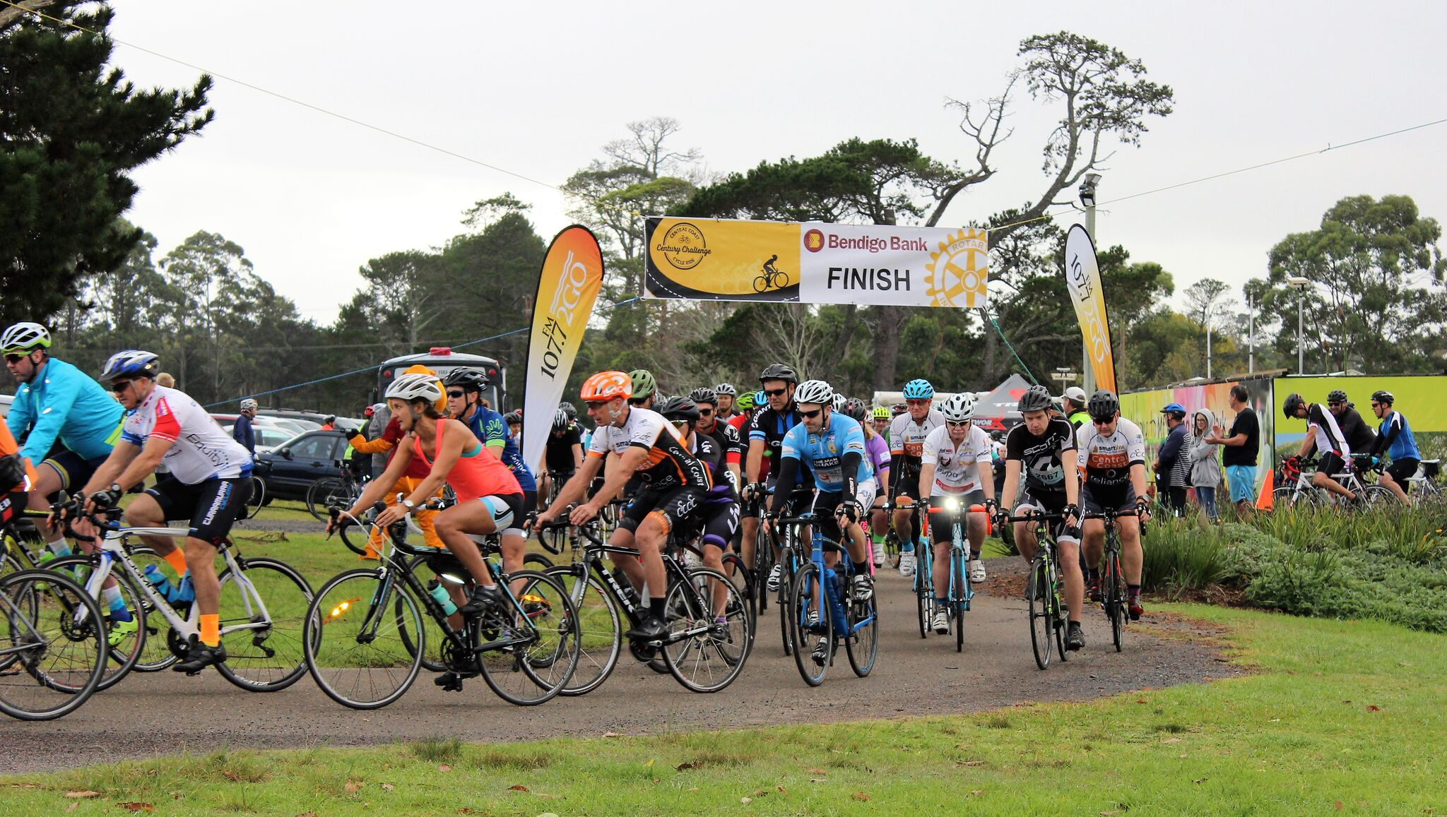 The Century Challenge Cycle Ride -